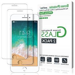 iPhone 8 Plus, 7 Plus, 6S Plus, 6 Plus Screen Protector, amF