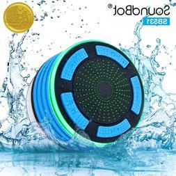SoundBot IPX7 Waterproof 5W Bluetooth Wireless Shower Speake