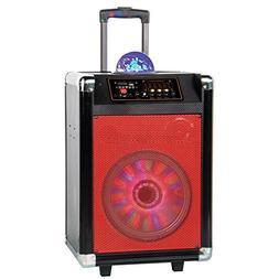 Supersonic IQ3608DJBT 8-Inch Rechargeable Bluetooth DJ Speak