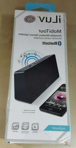 iLuv ISP202 MobiTour Portable Bluetooth Wireless Stereo Spea