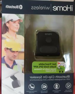 iHome IWBT1 Mini Bluetooth Clip-On Speaker - Black