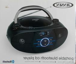 Jensen  Portable Bluetooth CD Player Audio Boombox ~ NEW CD