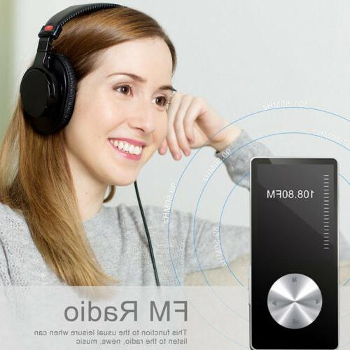 16G Portable Lossless HIFI MP4 Music Player Bluetooth speaker
