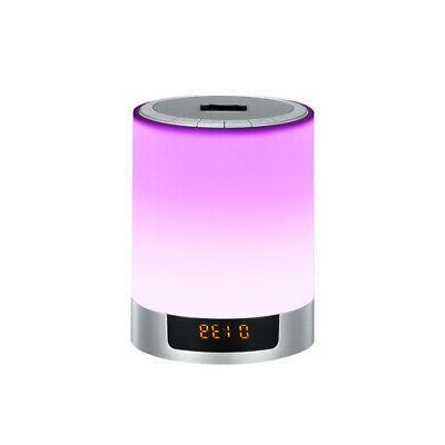 1pc Speakers Light FM Radio Wireless Novelty Portable Blueto