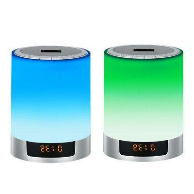 1pc Speakers Light Novelty Wireless FM Radio LED Lights Outd