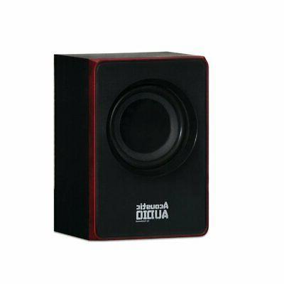 Acoustic Goldwood 2.1 Speaker System 2.1-Channel Home