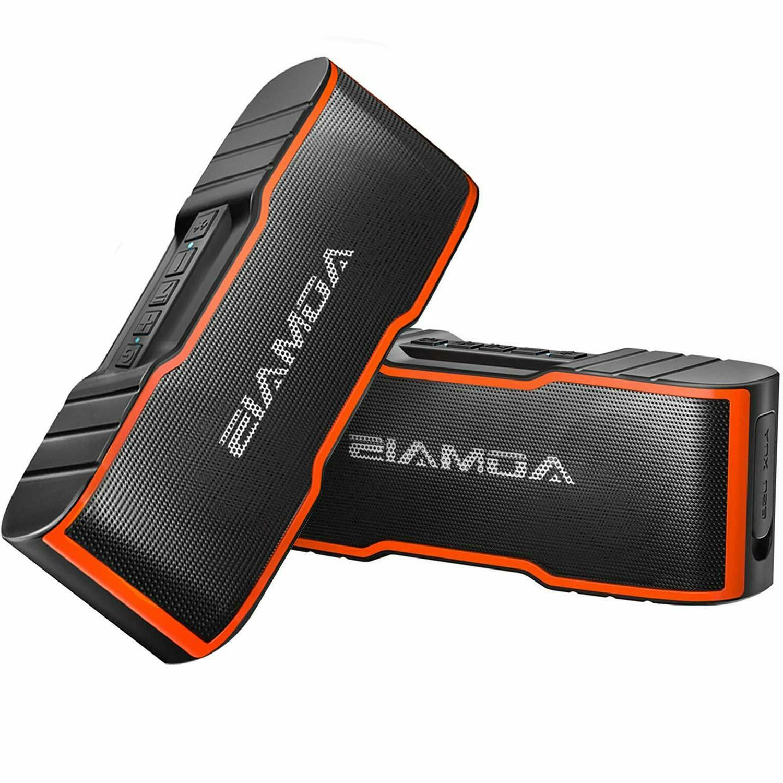 AOMAIS Sport II Mini Portable Bluetooth Speakers - Dual Ste