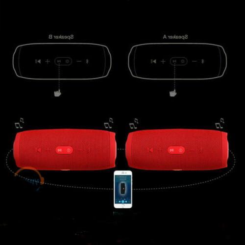 New Waterproof Black Bluetooth Speaker Wireless