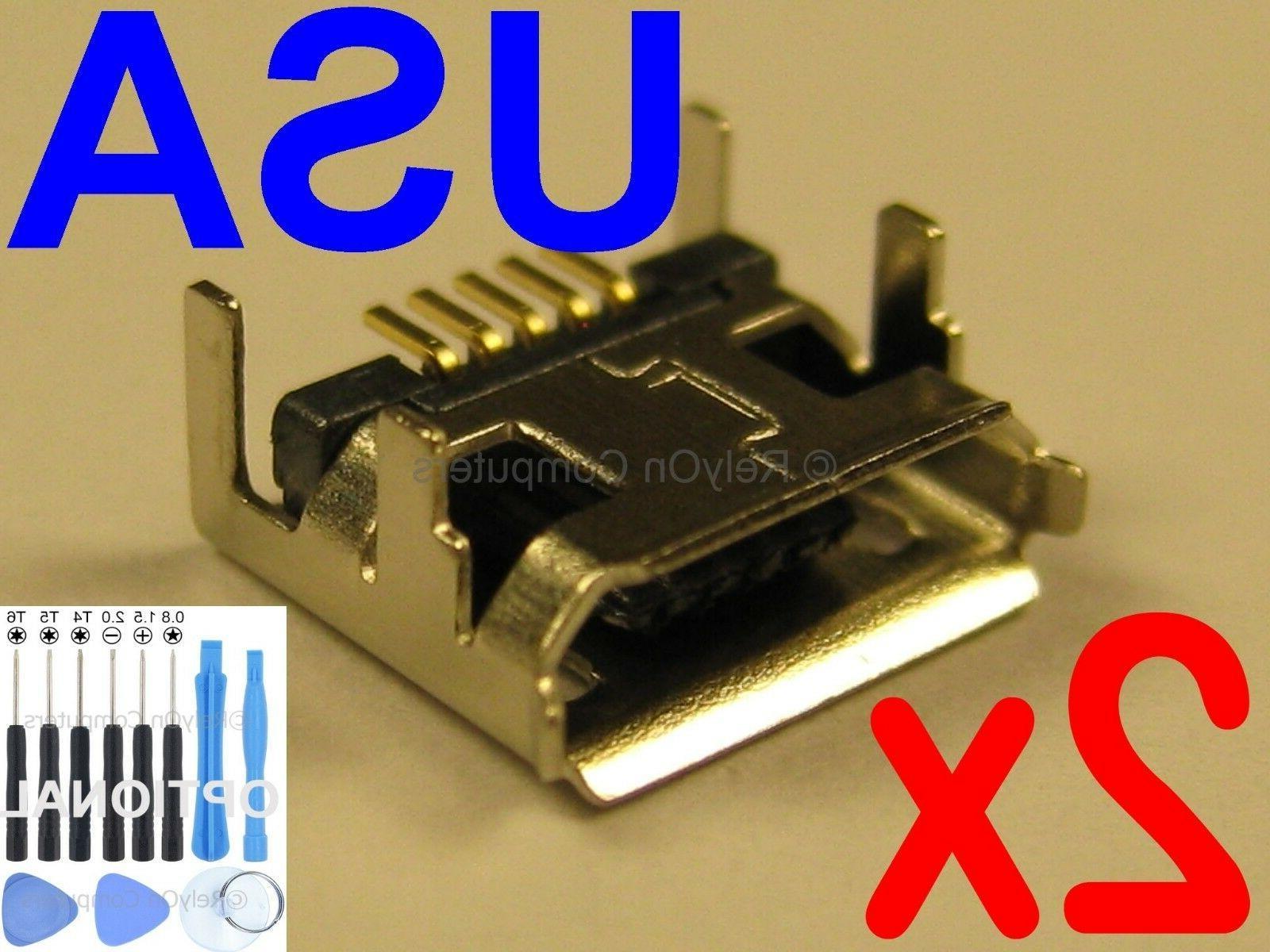 2x Lot of Micro USB Charging Port for JBL Flip 3 Bluetooth S