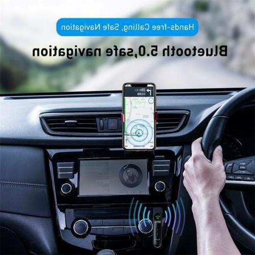 Baseus 3.5mm AUX Jack Wireless Bluetooth Car Kit
