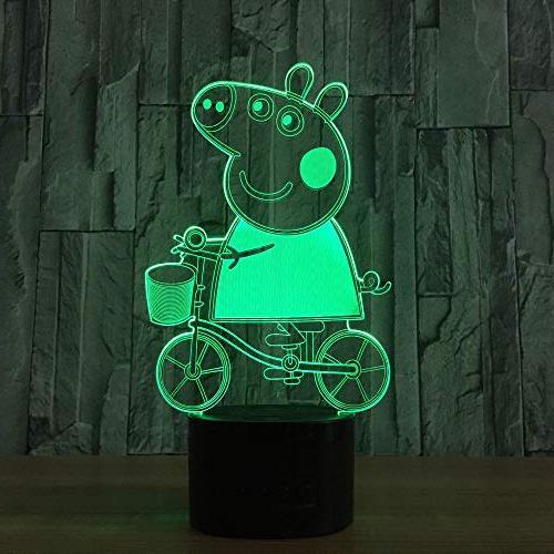 3d speaker lovely pig lamp