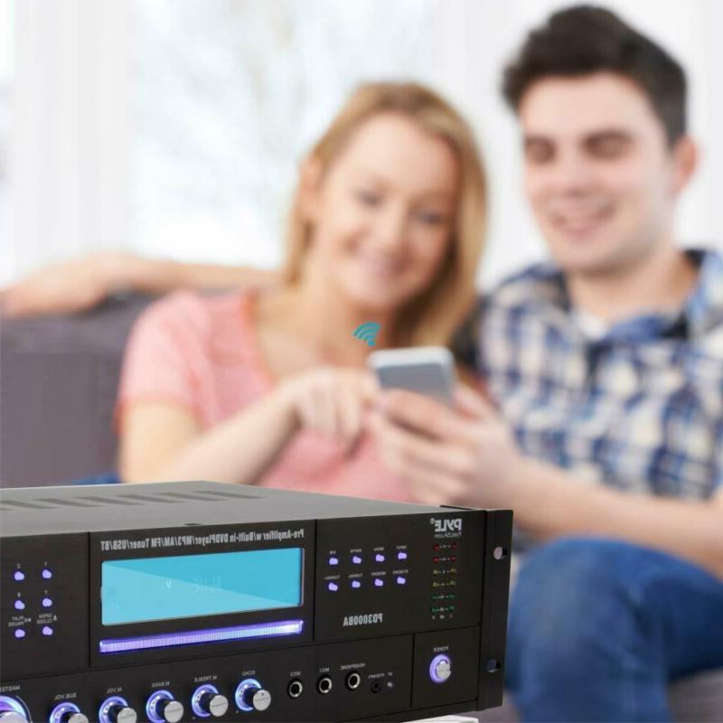 4 Channel Amplifier - 3000 Stereo Speaker Rec