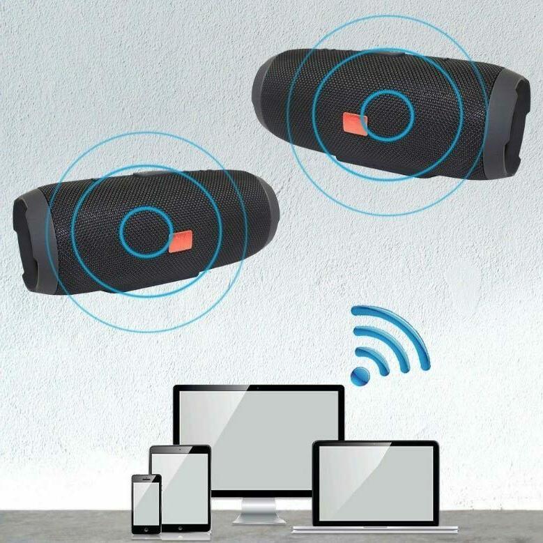 40W Wireless Speaker Bass USB TF AUX