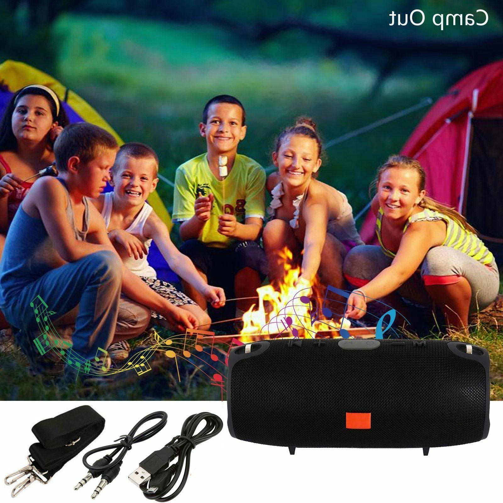 40W Wireless Speaker Bass USB TF MP3