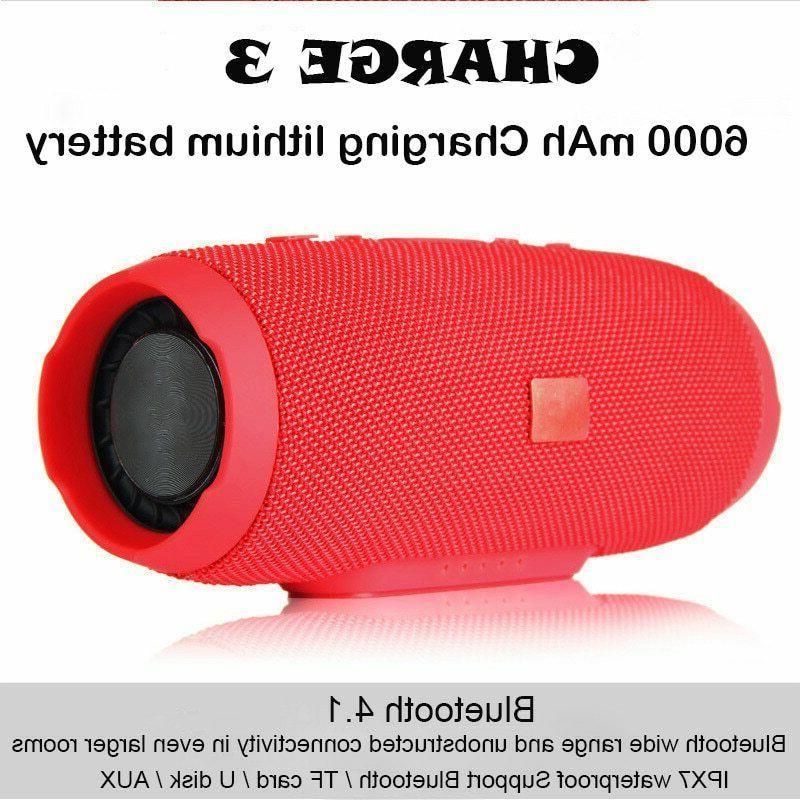 40w bluetooth wireless portable speaker waterproof bass