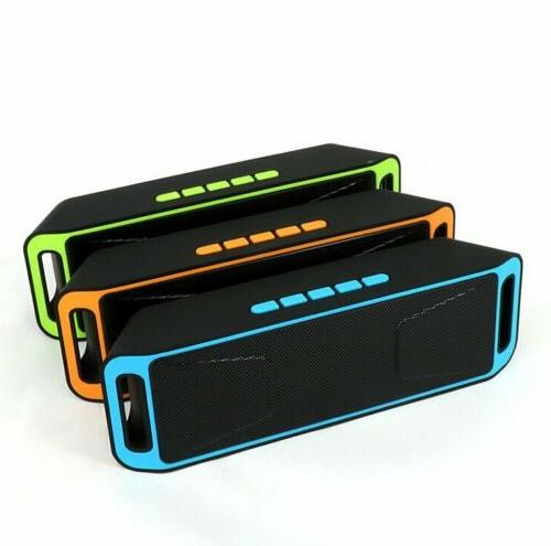 LOUD Bluetooth Waterproof Outdoor Stereo Bass