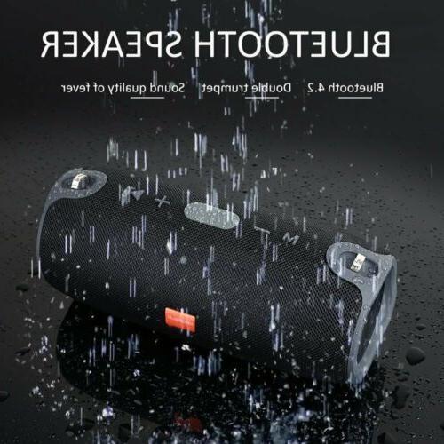 BIUBLE 40W Bluetooth Speaker Outdoor Bass