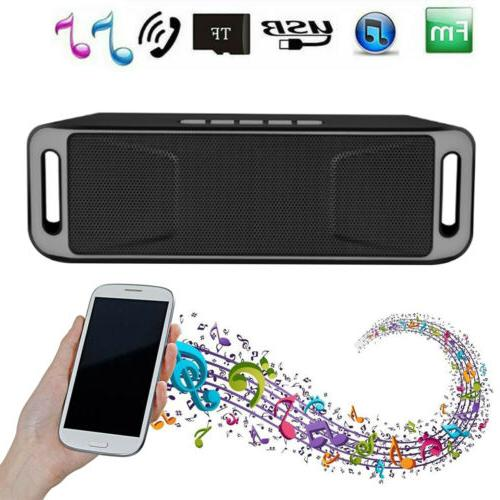 Outdoor Portable Bluetooth Wireless Super Bass Speaker with