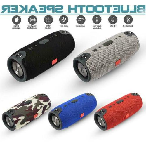 40w wireless bluetooth speaker waterproof stereo bass