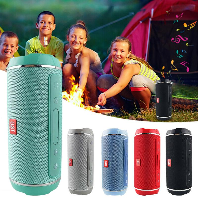 40w Portable Bluetooth Speaker Bass USB/TF/AUX US