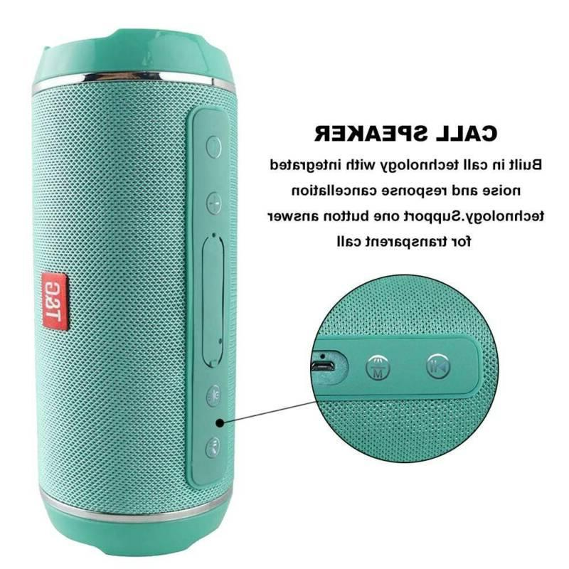 40w Portable Speaker Stereo USB/TF/AUX MP3