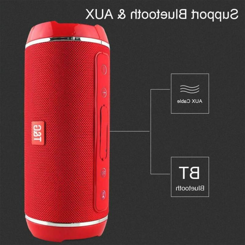 40w Portable Speaker Waterproof Stereo USB/TF/AUX