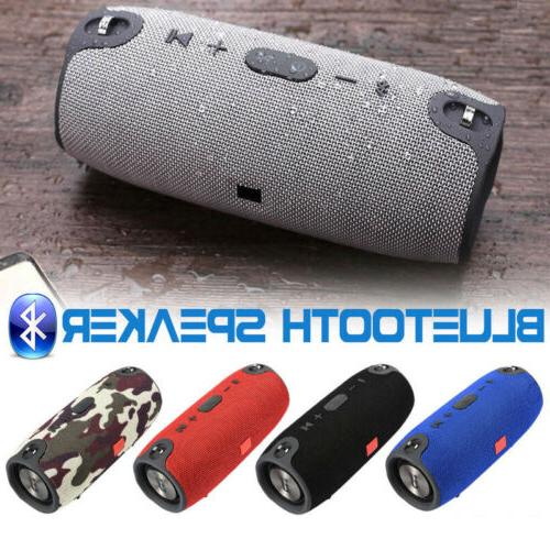 40W Wireless Bluetooth Speaker Waterproof Stereo FM Radio USA
