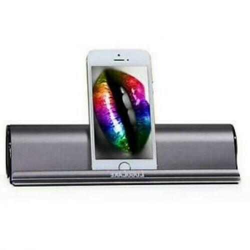 LuguLake Portable Bluetooth Speaker Stand Dock HiFi