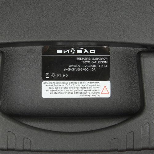 "8"" 1000W Portable Bluetooth"