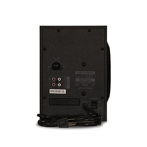 Acoustic Audio Home Speaker for Multimedia Computer