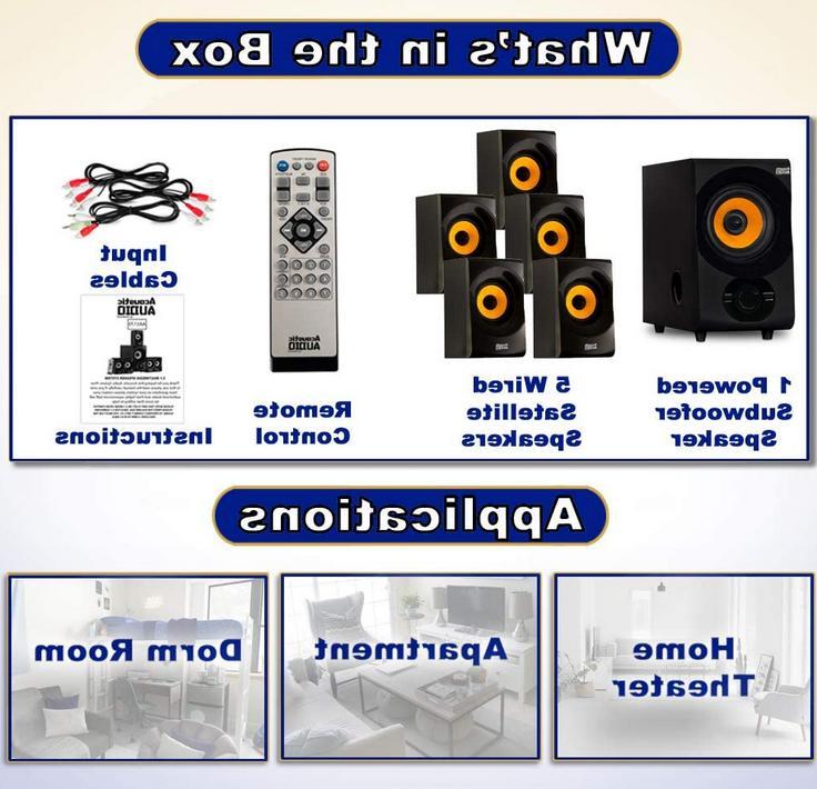 Acoustic - AA5170 Home Bluetooth Speaker 700W Powe
