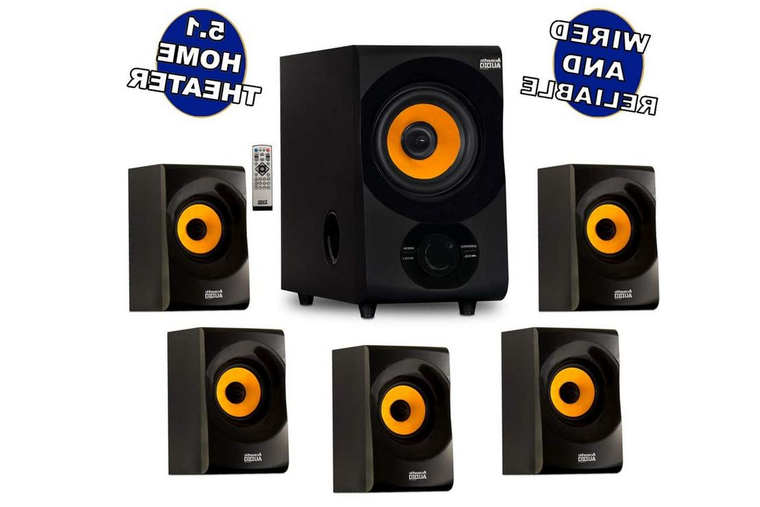 acoustic audio aa5170 home theater 5 1