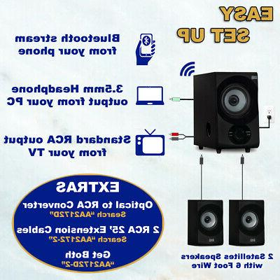 Acoustic Bluetooth System for Multimedia