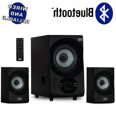 acoustic audio home 2 1 bluetooth 3