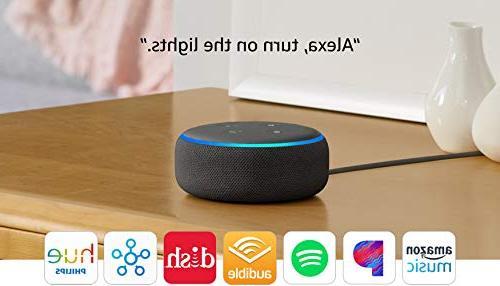 All-new Smart Alexa - Charcoal