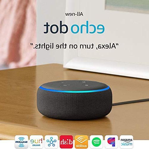 All-new Dot - Smart speaker with