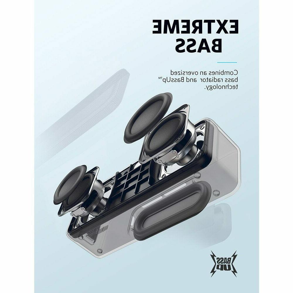 Portable Speaker IPX7 Waterproof 12+