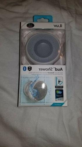 aud shower by ipx4 rated water resistant