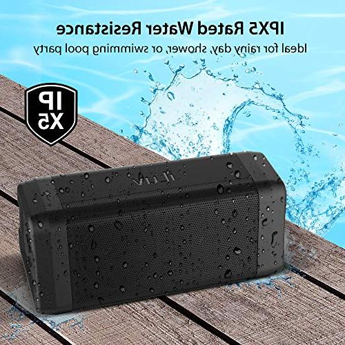 iLuv Audmini Plus Bluetooth HD Full Range, IPX5 Water Deep Portable Wireless Speaker Echo