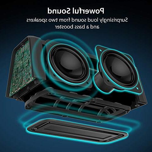 iLuv Bluetooth HD Full Range, IPX5 Water Deep Bass, Speaker