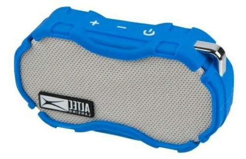 Altec Wireless Speaker, SEALED Blu/Sil/Blk