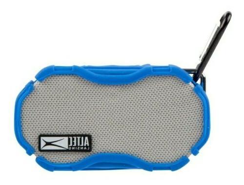 Altec Lansing Boom Wireless Speaker, SEALED Blu/Sil/Blk