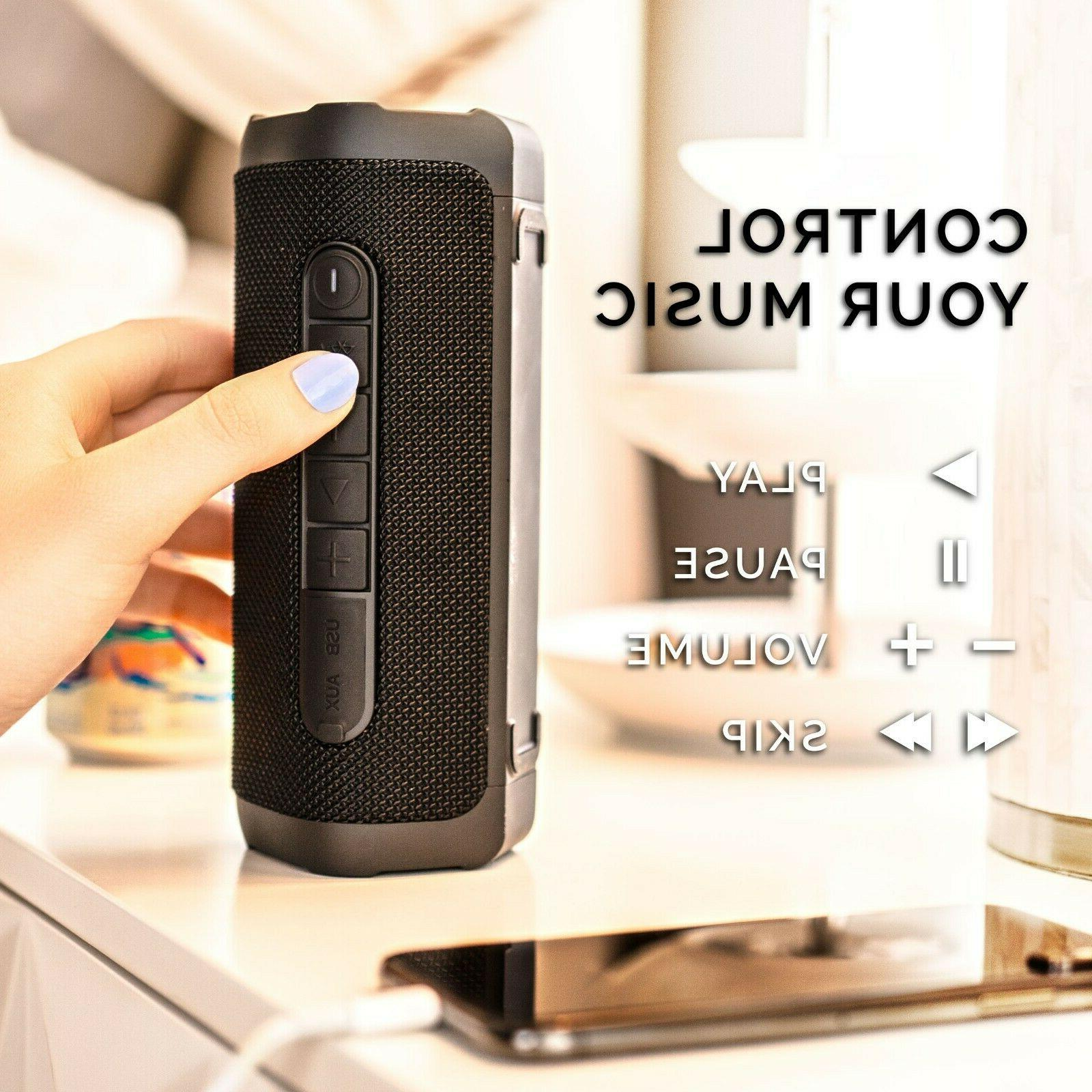 Back Wireless Bluetooth Water-Resistant, Battery