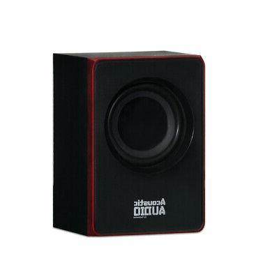 Acoustic Audio Home 2.1 Speaker for Multimedia Laptop