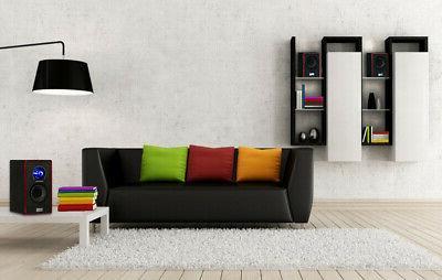 Acoustic 2.1 Speaker System Multimedia
