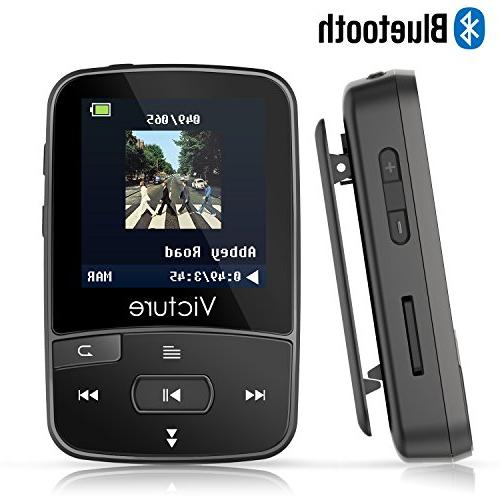 bluetooth mp3 player clip portable