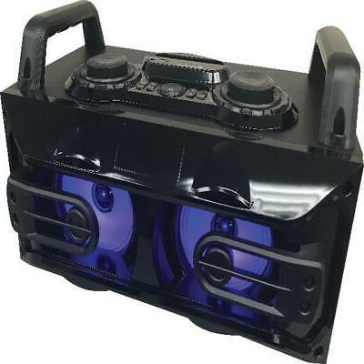bluetooth r light up tailgate portable speaker