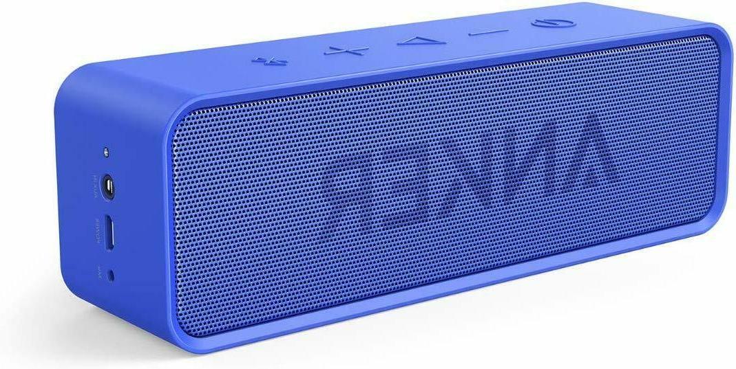 bluetooth speaker 24 hour playtime 66ft dual