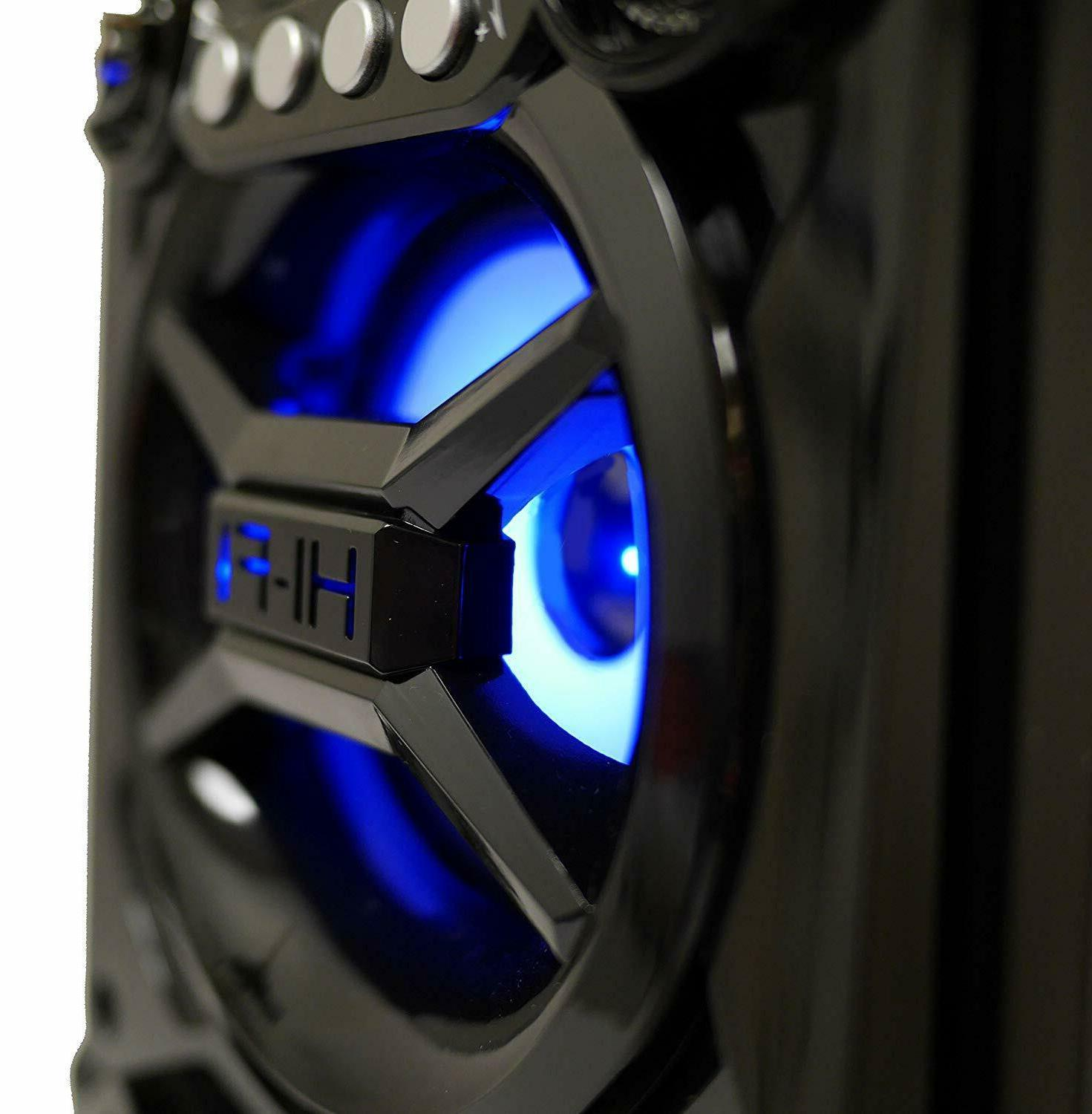 Big Speaker Party Stereo System Portable Up