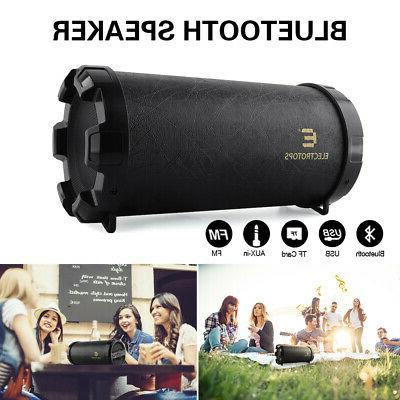 LOUD Speaker Waterproof Black USB/TF/FM Radio